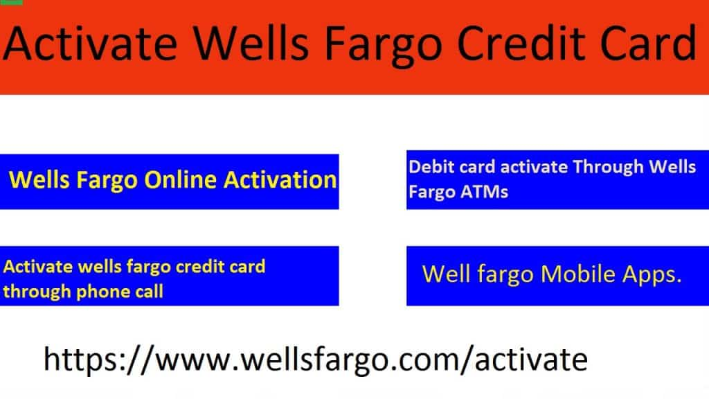 Wells Fargo Card Activation @ Wellsfargo com/activate