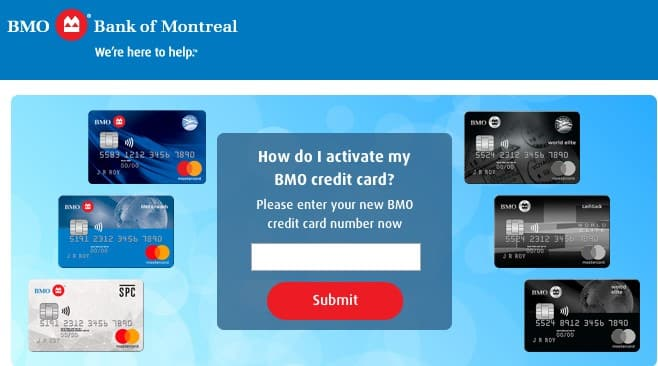 bmo harris card activation